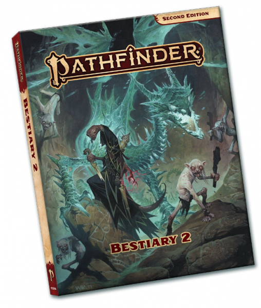 Pathfinder (P2): Bestiary 2 - Pocket Edition
