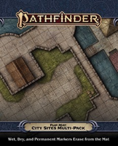 Pathfinder RPG: (Flip-Mat) City Sites Multi-Pack