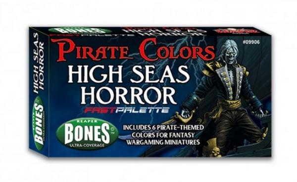 Reaper Fast Palette Paint Set: Pirate Colors - Seas of Horror (6)