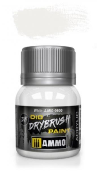 AMMO: Dio Drybrush Colors - White (40ml)