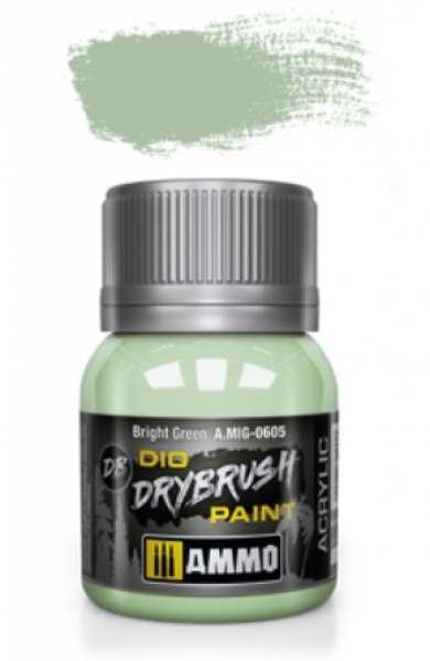 AMMO: Dio Drybrush Colors - Bright Green (40ml)