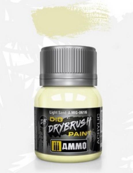 AMMO: Dio Drybrush Colors - Light Sand (40ml)