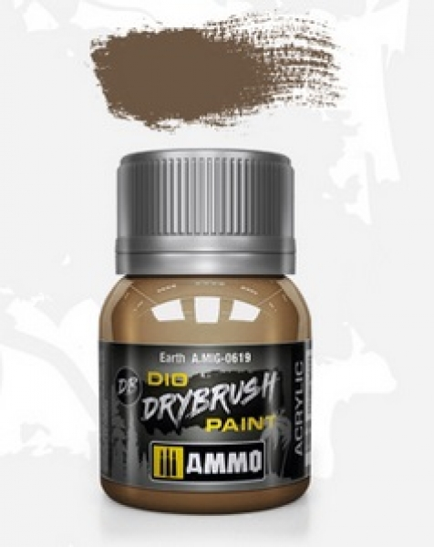 AMMO: Dio Drybrush Colors - Earth (40ml)