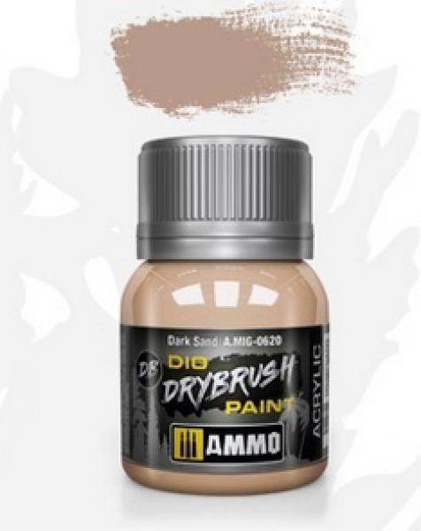 AMMO: Dio Drybrush Colors - Dark Sand (40ml)