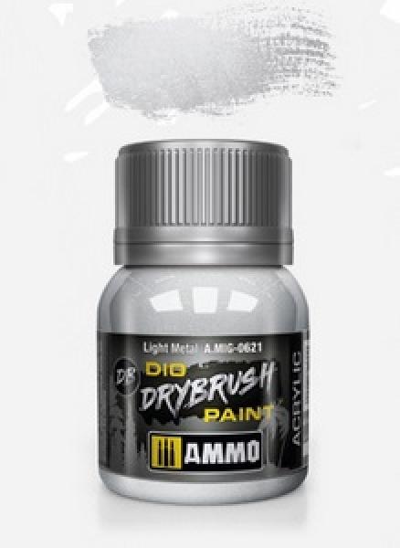 AMMO: Dio Drybrush Colors - Light Metal (40ml)