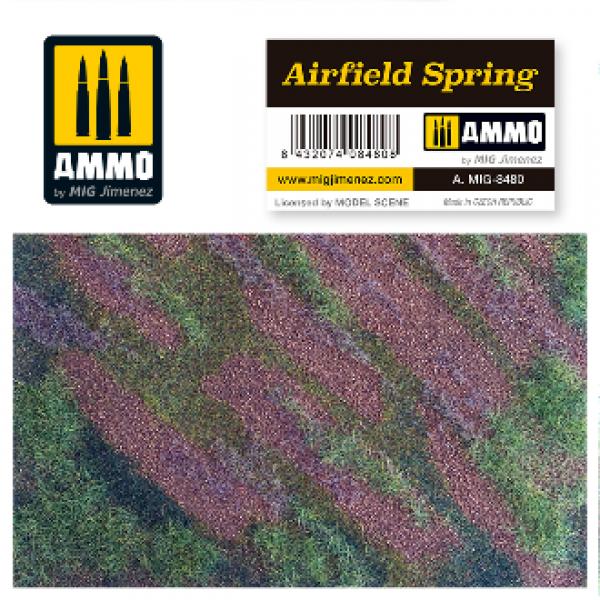 AMMO: Vegetation - Airfield Spring Scenic Mat