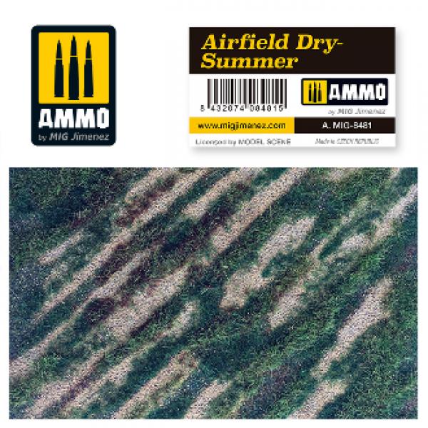 AMMO: Vegetation - Airfield Dry Summer Scenic Mat