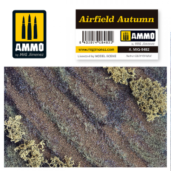 AMMO: Vegetation - Airfield Autumn Scenic Mat