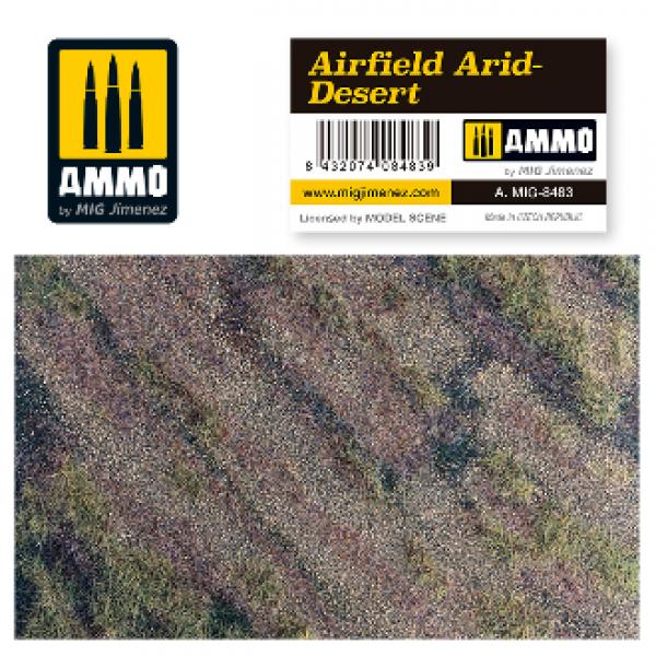 AMMO: Vegetation - Airfield Arid Desert Scenic Mat