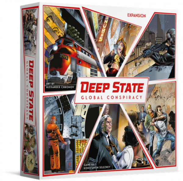 Deep State: Global Conspiracy Expansion