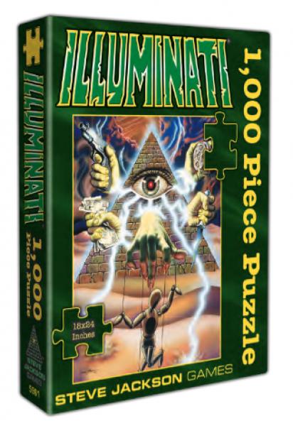 Illuminati - 1000 Piece Puzzle