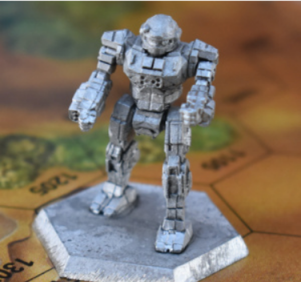 Battletech Miniatures: Commando COM-2D Mech - 25 Tons – TRO Succession Wars
