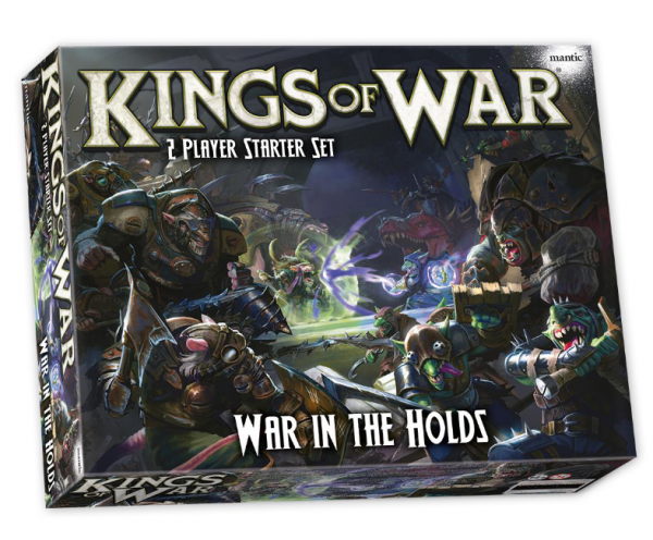 Kings of War 3rd Edition: War in the Holds - Two Player Starter Set