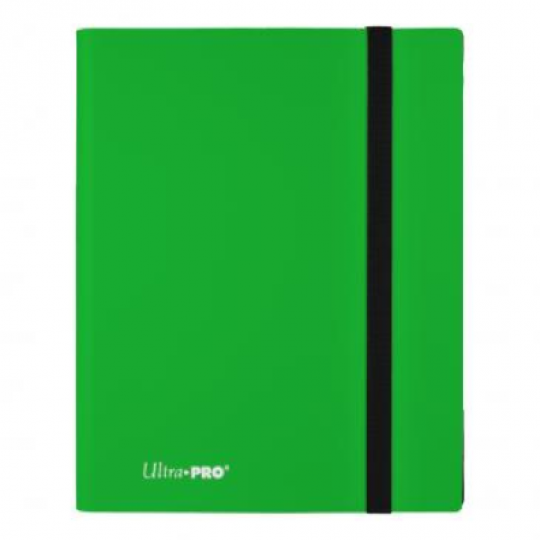 Ultra-Pro: 9-Pocket Eclipse PRO-Binder - Lime Green