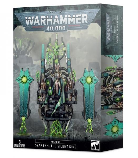 Warhammer 40K: Necrons Szarekh, The Silent King
