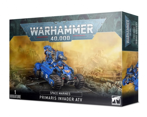 Warhammer 40K: Space Marines Primaris Invader ATV