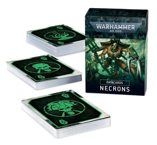 Warhammer 40K: Necrons Datacards (2020)