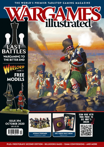 Wargames Illustrated Magazine #394 (October 2020) (includes free Ashigaru or Samurai sprue)