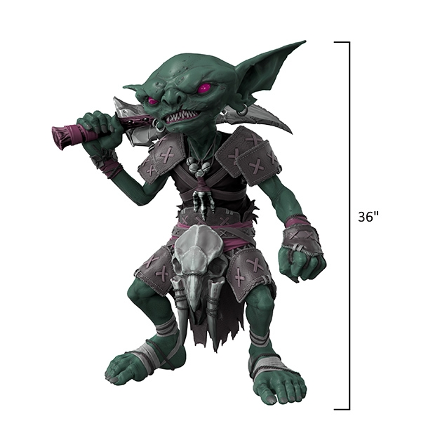 Pathfinder Foam Replica: Life Sized Goblin