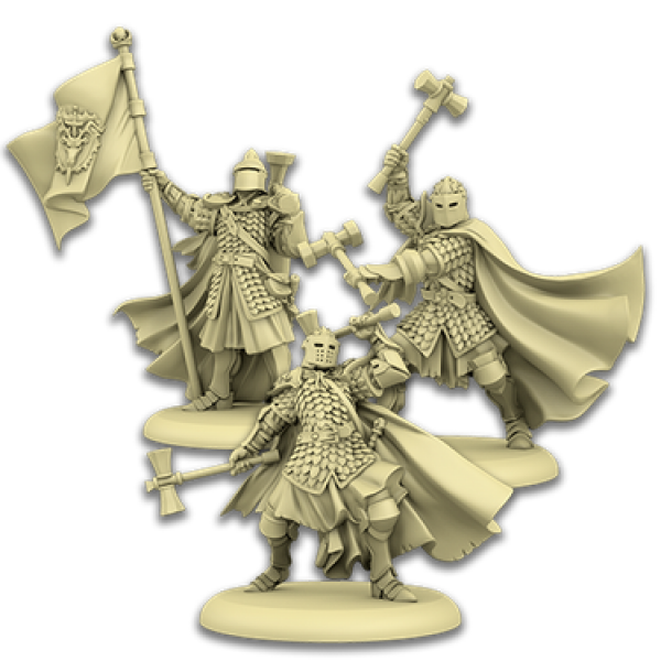 A Song of Ice & Fire: Tabletop Miniatures Game - Baratheon Sentinels