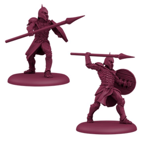 A Song of Ice & Fire: Tabletop Miniatures Game - Targaryen Unsullied Pikemen