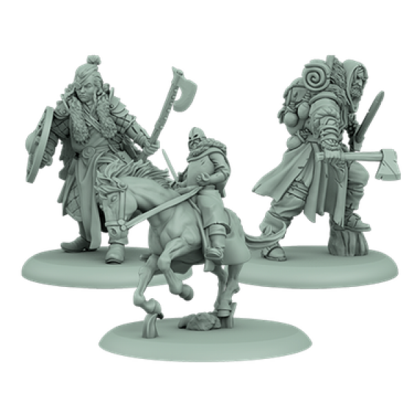 A Song of Ice & Fire: Tabletop Miniatures Game: Stark Attachments #1