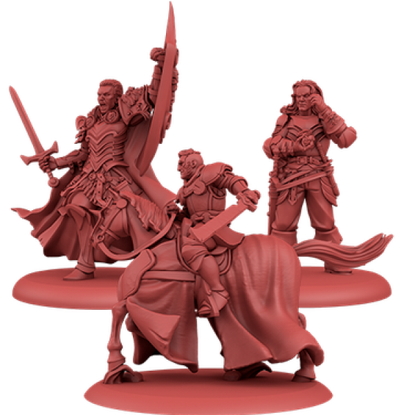 A Song of Ice & Fire: Tabletop Miniatures Game: Lannister Attachments #1