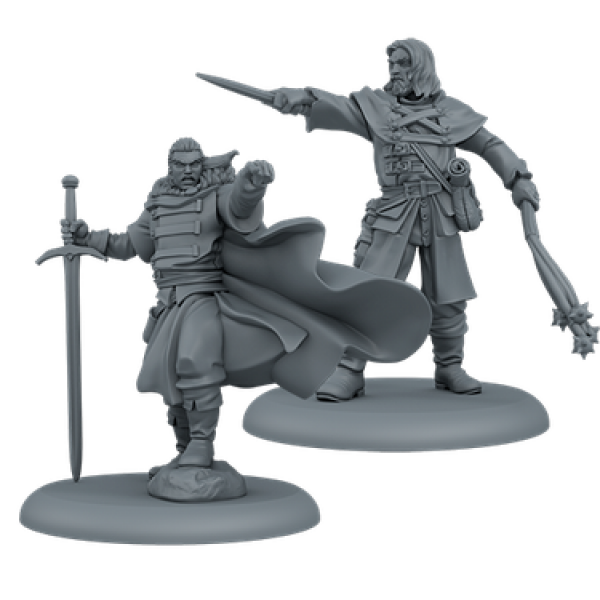 A Song of Ice & Fire: Tabletop Miniatures Game - Night's Watch Attachments #1