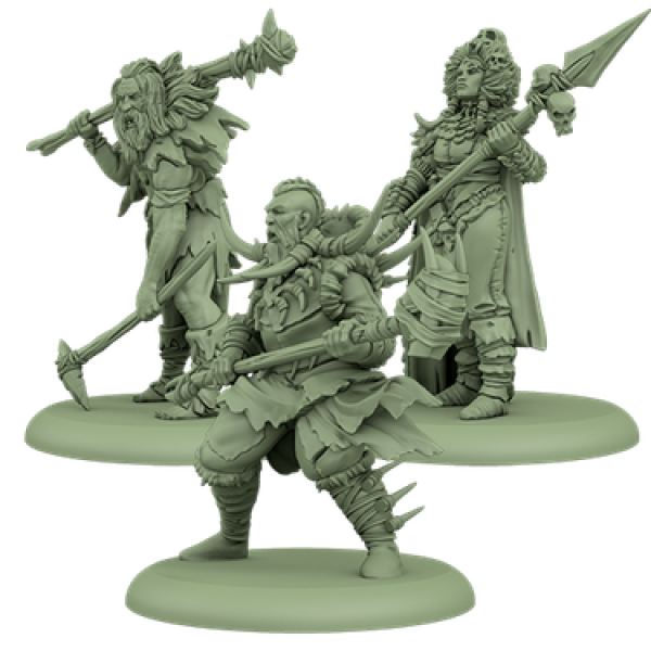A Song of Ice & Fire Miniatures Game: Free Folk Attachments #1