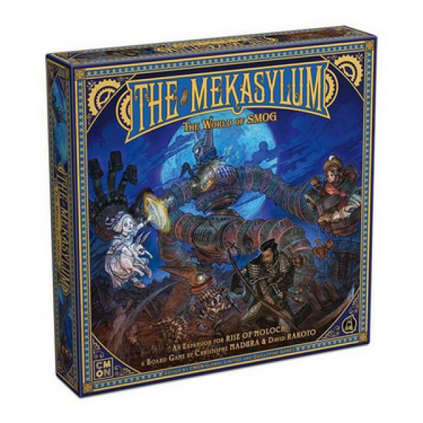The World of SMOG: Rise of Moloch - The Mekasylum Expansion