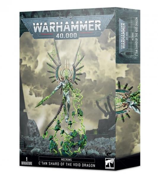 Warhammer 40K: Necrons - C'Tan Shard of the Void Dragon