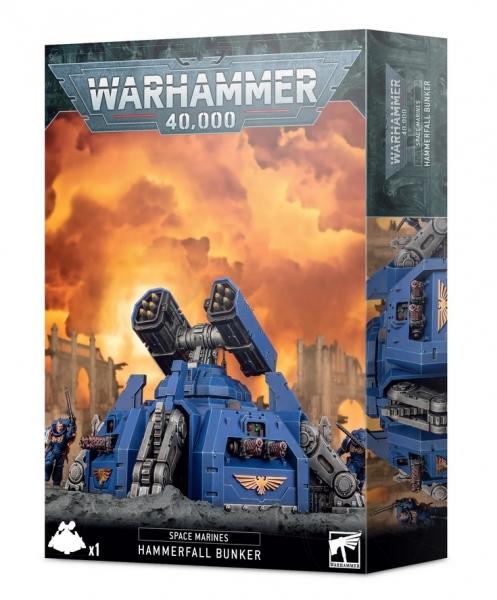 Warhammer 40K: Space Marines Hammerfall Bunker