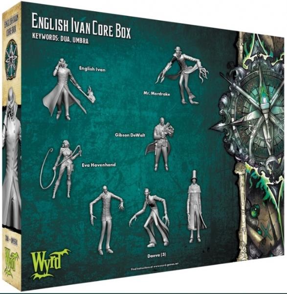 Malifaux (M3E): English Ivan Core Box