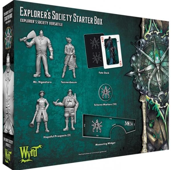 Malifaux (M3E): Explorer's Society Starter Box