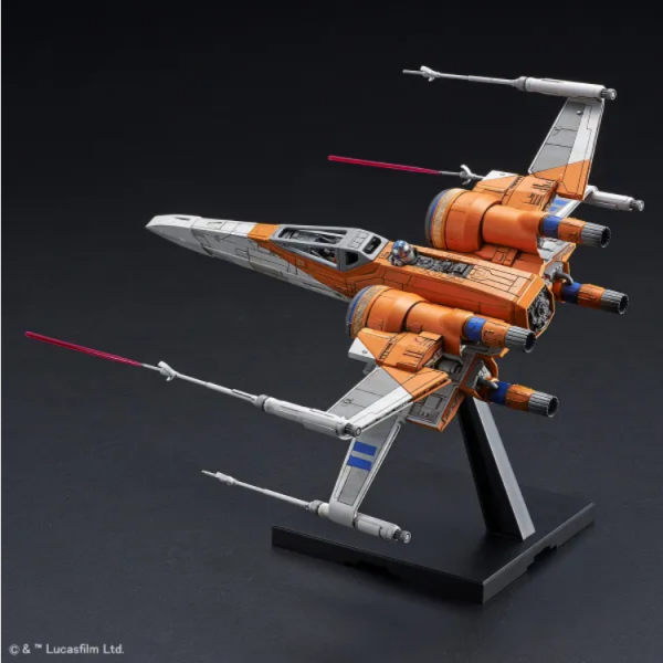 Bandai Hobby: Star Wars Poe's X-Wing Fighter (Rise of Skywalker Ver.) 1/72 Scale