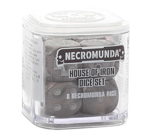 Necromunda: House of Iron Dice Set