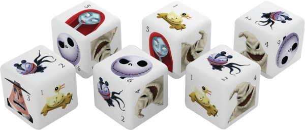 The Nightmare Before Christmas d6 Dice Set (6)