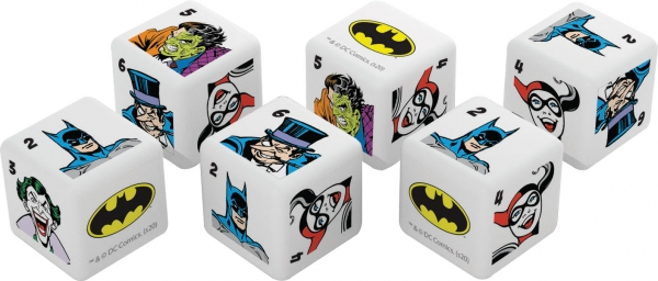 Batman d6 Dice Set (6)