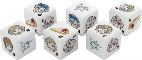 The Golden Girls d6 Dice Set (6)