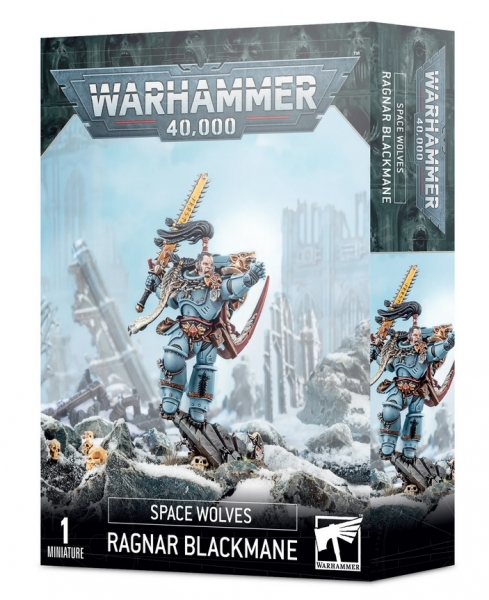 WH40K: Space Wolves - Ragnar Blackmane [ALLOCATED/LIMITED]