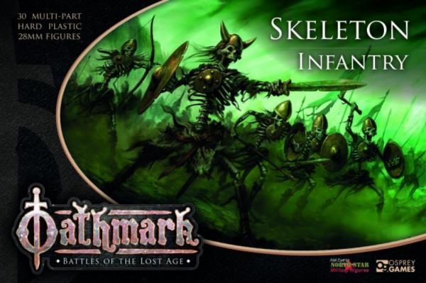 28mm Fantasy: (Oathmark) Skeleton Infantry