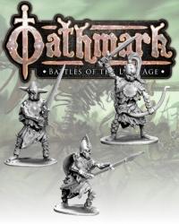 28mm Fantasy: (Oathmark) Skeleton Champions (3)