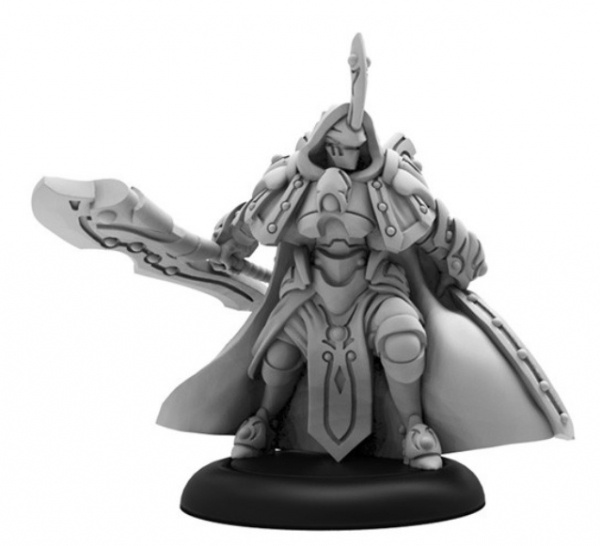Warmachine: (Retribution Of Scyrah) Falcir, The Merciless – Retribution Warcaster (metal)
