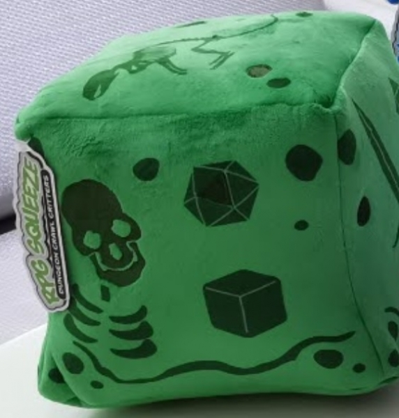 Creature Curation: RPG Squeeze - Gelatinous Cube