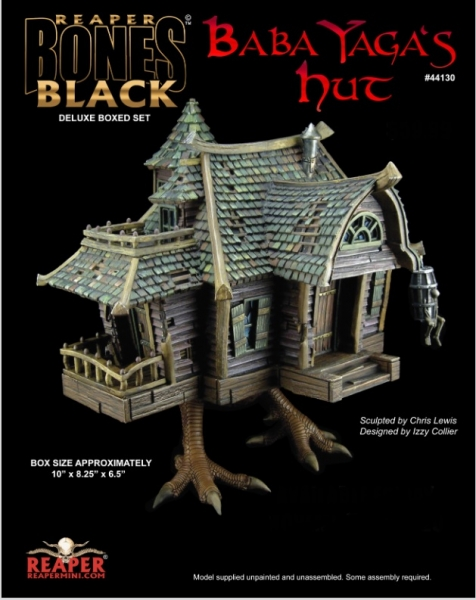 Reaper Bones Black: Baba Yaga's Hut Box Set