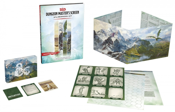 D&D: Dungeon Master`s Screen Wilderness Kit