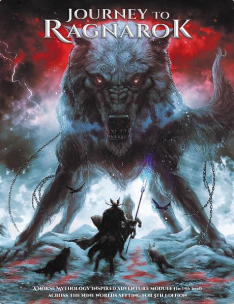 Journey To Ragnarok RPG: Adventure and Setting Corebook