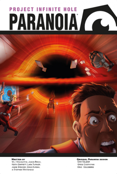 Paranoia RPG: The Research and Design Box Set - Project Infiinite Hole