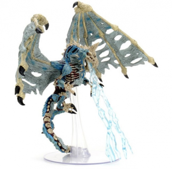 D&D Miniatures: Icons of the Realms Premium Figure - Blue Dracolich