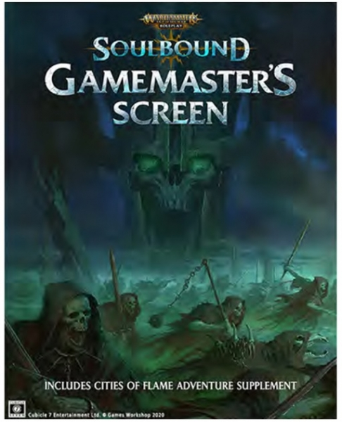 Age of Sigmar: Soulbound GM Screen